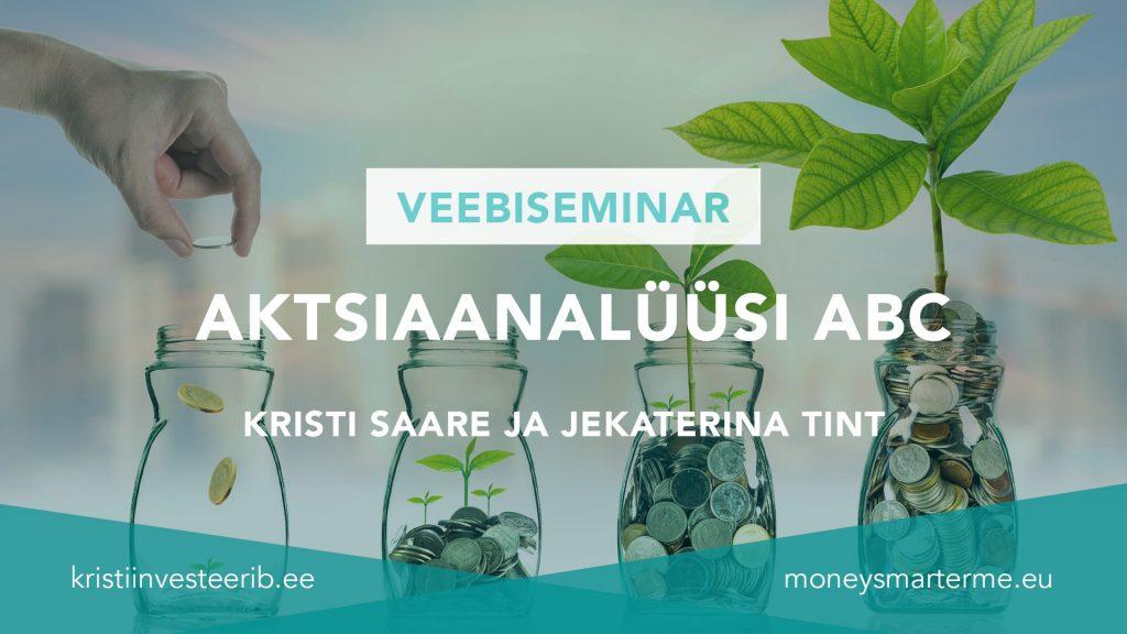 aktsianaalüüsi ABC Kristi Saare ja Jekaterina Tint